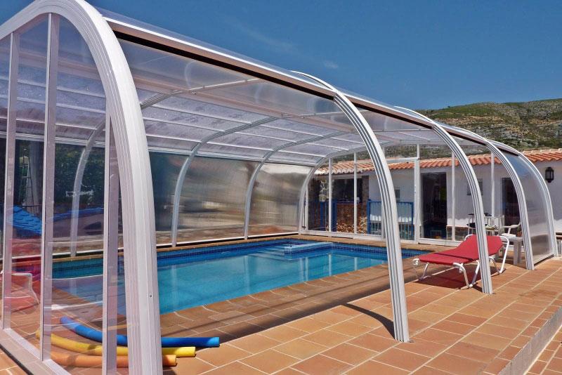 Cubiertas para piscinas suremar piscinas for Cubiertas piscinas precios