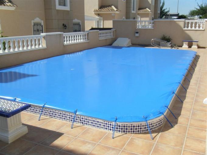 Cubiertas para piscinas suremar piscinas for Cubiertas de lona para piscinas